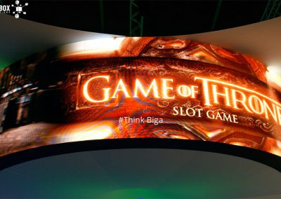 Game of Thrones video screen