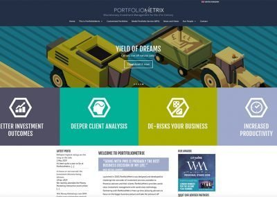 PORTFOLIOMETRIXDiscretionary Investment Company website