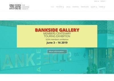 Homepage slider, Bankside Exhibition