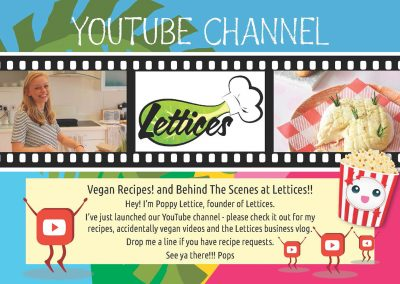 Lettices YouTube flyer
